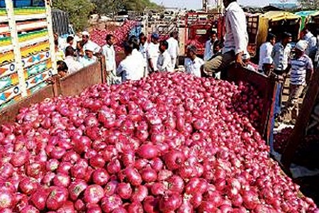 India said the reason for stopping onion exports
